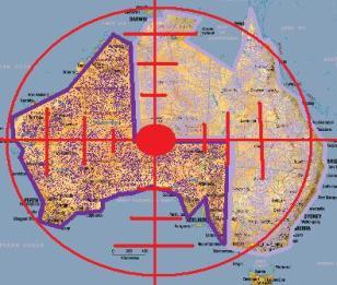 Australia in the crosshairs