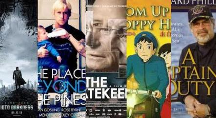 Five Best Movies of 2013