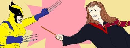 Harry Potter vs. X-men!