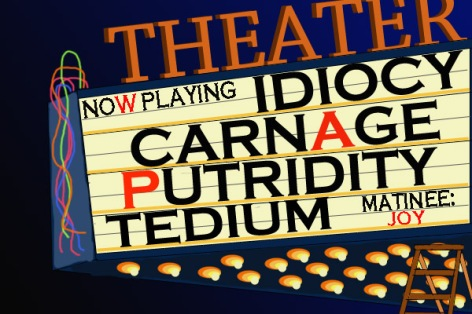 Now playing: At $15 per ticket!